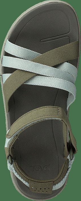 Sanborn Sandal Burnt Olive/seafoam