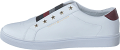 Tommy Hilfiger Elastic Slip On White