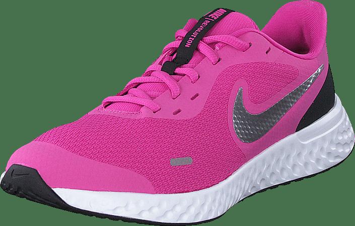 Nike - Revolution 5 (gs) Active Fuchsia/metallic Silver
