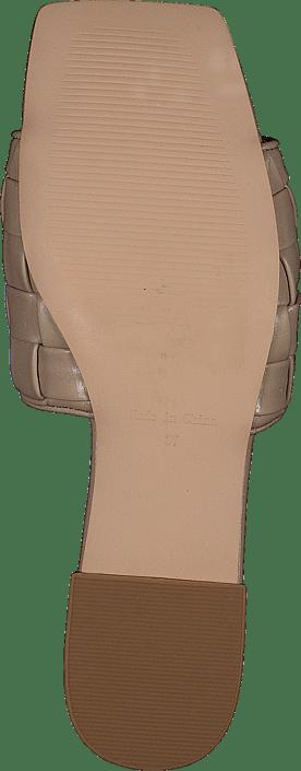 Braided Flats Beige