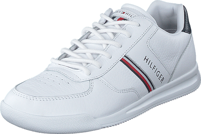 Lightweight Leather Mix Sneake White