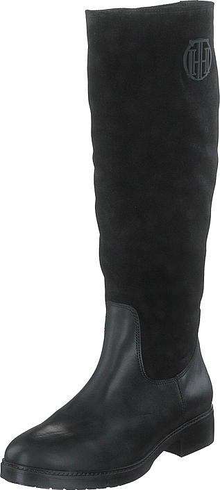 Modern Tommy Long Boot Black