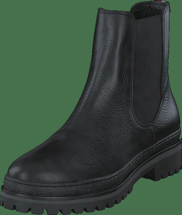 Rugged Classic Chelsea Boot Black