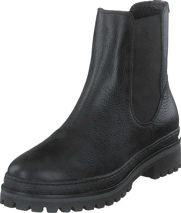 Rugged Classic Chelsea Boot Black