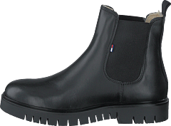 Warm Lined Chelsea Boot Black