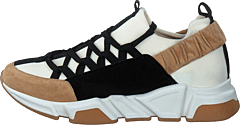 Sportshoe Beige/white/black