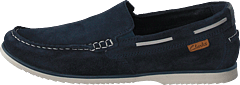 Noonan Step Navy Suede