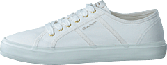Pinestreet Low Laceshoes White