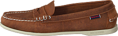 Jacqueline Loafer Penny Crazy Brown Tan