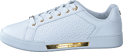 Th Monogram Elevated Sneaker White