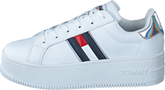 Iridescent Iconic Sneaker White