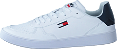 Tommy Jeans Essential Cupsole White