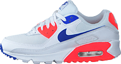 Wmns Air Max 90 White/racer Blue-flash Crimson
