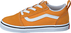 Td Old Skool Elastic Lace Golden Nugget/true White