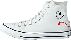 Chuck Taylor All Star Hi Valentine's Day White