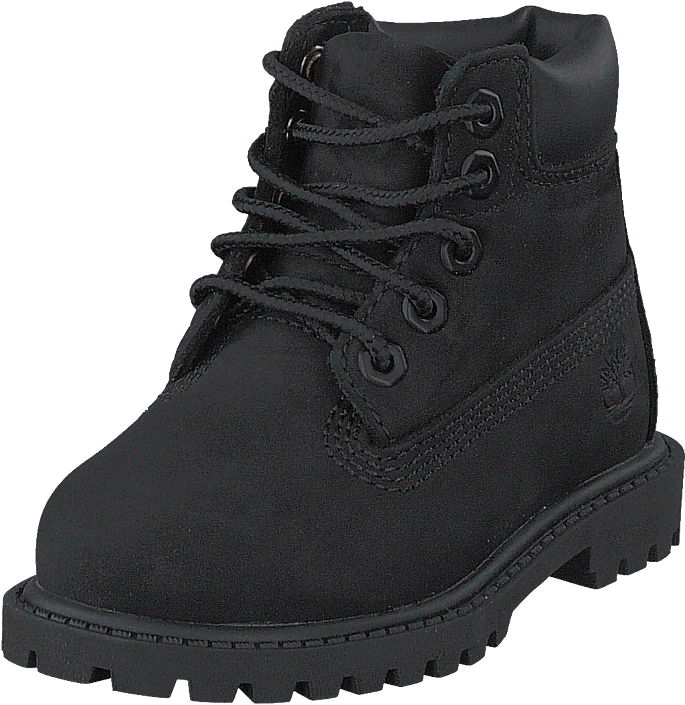 Toddlers 6 Inch Premium Boot Black