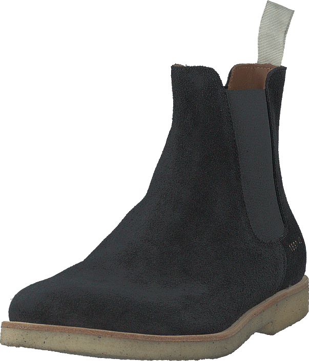 Chelsea Boot In Suede Black
