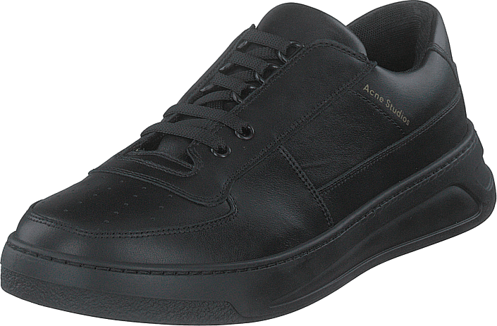 Perey Lace Up Black