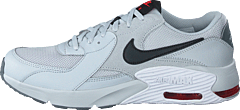 Air Max Excee Gs Grey Fog/white/track Red/black