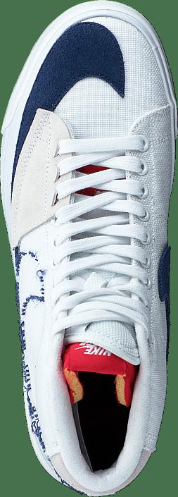Zoom Blazer Mid Edge White