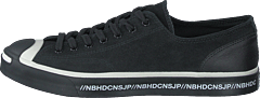 X Neighborhood Jack Purcell Ox Black