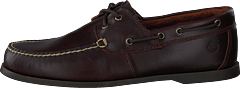 Cedar Bay Boat Shoe Dk Brown Full Grain