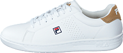 Crosscourt 2 F Low White/khaki