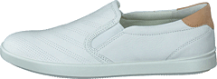Ecco Leisure White/powder