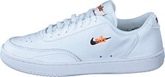 Wmns Court Vintage Prm Wht/blk-total Orange