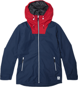 Block Jacket Blue
