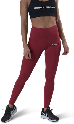 Legging Full Length With Tape Pink