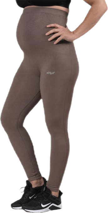 Maternity Seamless Tights Beige/Grey