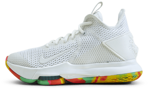 Lebron Witness 4 Summit White/Summit White-Opti Yellow