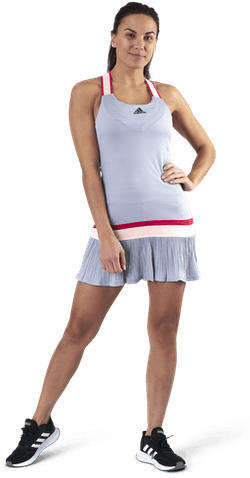 Tennis Y-Dress Heat Rdy Grey
