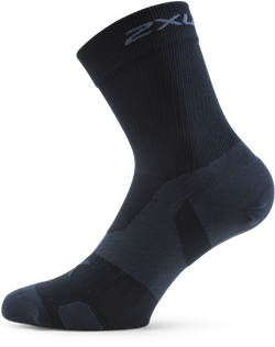 Vectr Cushion Crew Socks Black/Grey