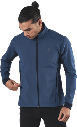 Agile Softshell Jacket Blue