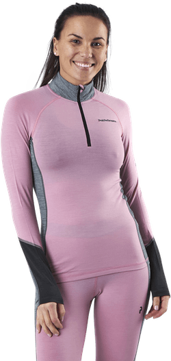 Magic Half Zip Pink