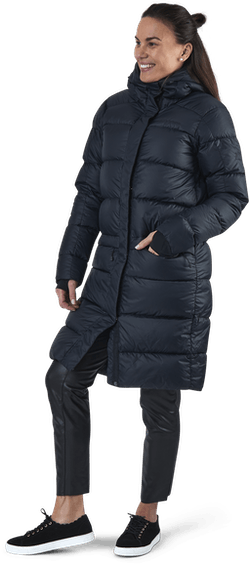 Frost Down Coat Black