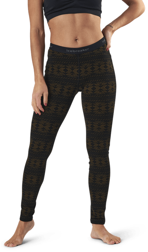 250 Vertex Leggings Crystalline Black