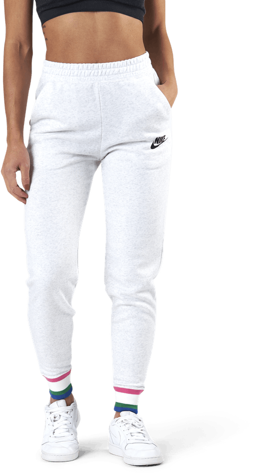 Nsw Hrtg Pant Flc Birch Heather/Black