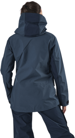 Vertical 3L Jacket Blue