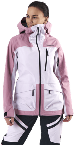 Vertical 3L Jacket Pink