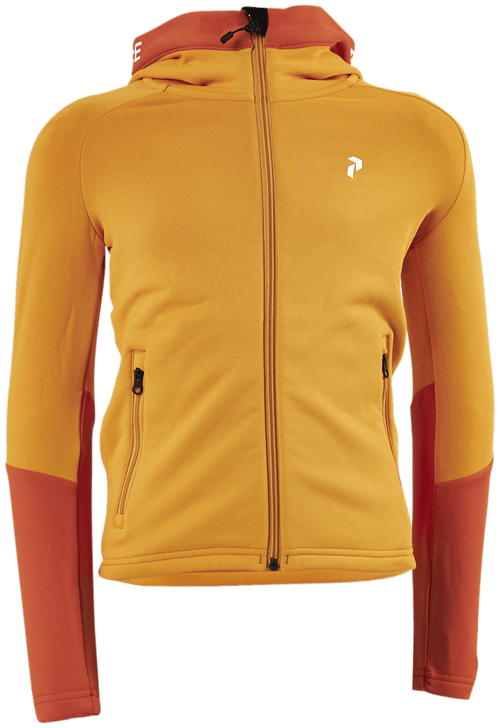 Jr Rider Zip Hood Yellow