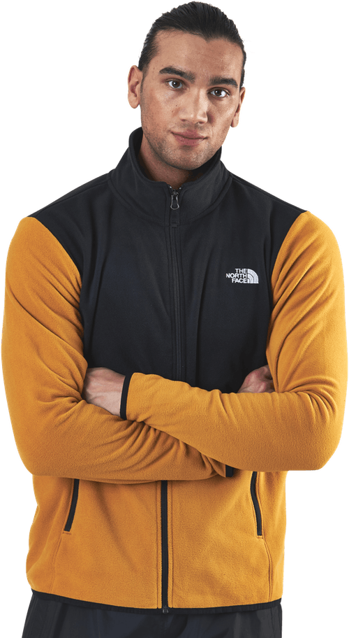 TKA Glacier Full Zip Jacket Brown/Yellow