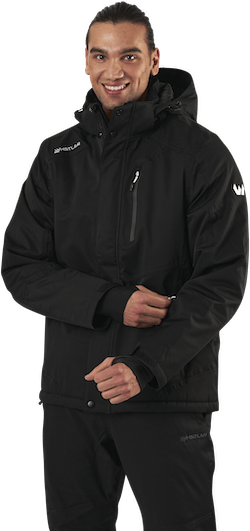 Maison 4-way Stretch Ski Jacket W-PRO 15000 Black