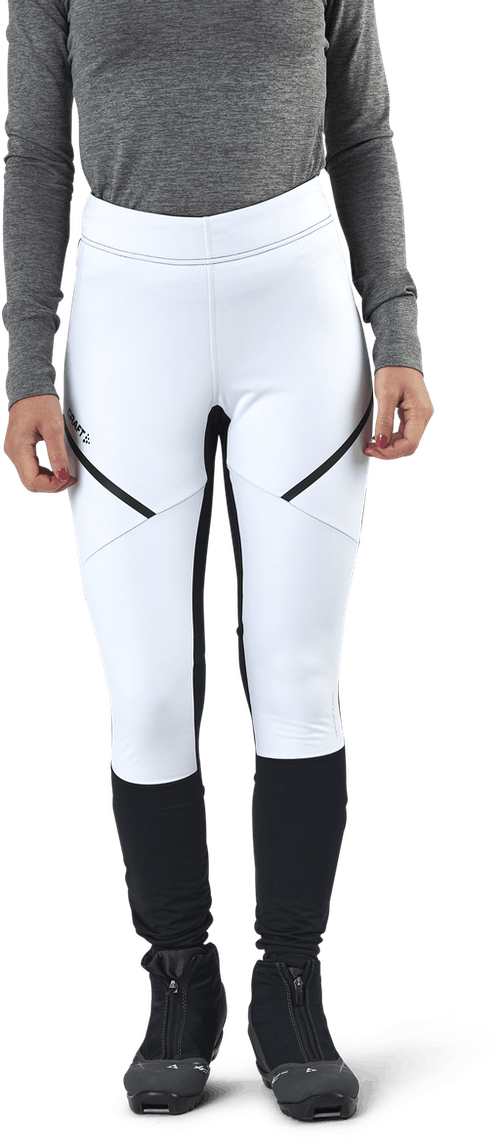 Glide Wind Tights White/Black