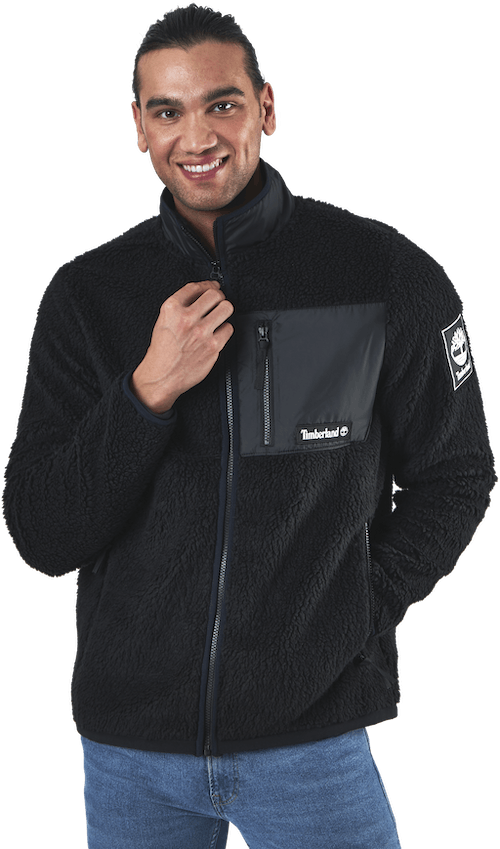 Yc Archive Sherpa Fleece Black