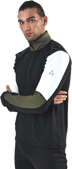 Åsarna 2 Baselayer Green/Black