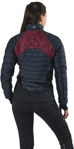Idre Insulation Jacket Black/Red