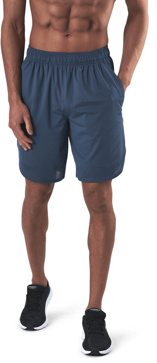Train Stretch Shorts Blue
